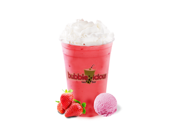 Bubble Milk Shake Strawberry