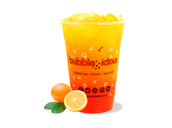 Bubble Tea Orange