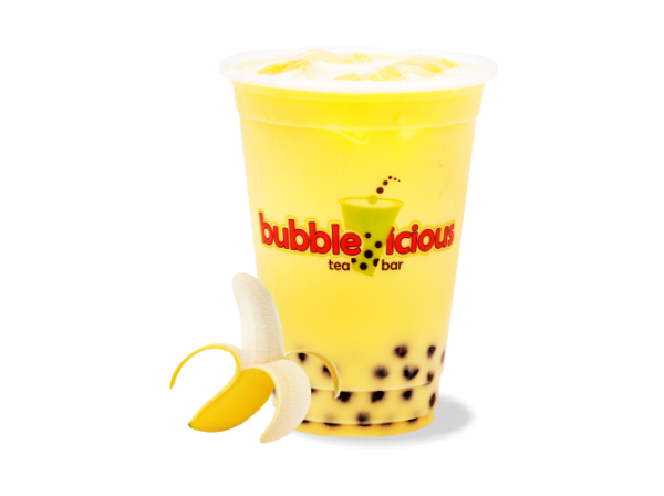 Milk Bubble Tea Banana