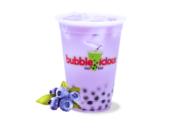 Milk Bubble Tea Blueberry