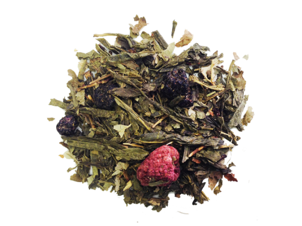 Loose Tea Green Ruspberry Blueberry